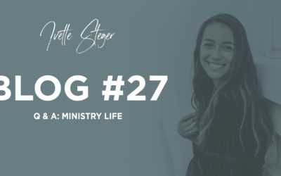 Q & A: Ministry Life